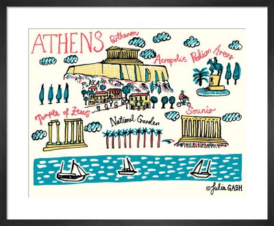 A Snapshot of Athens by Julia Gash