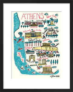 Athens by Julia Gash