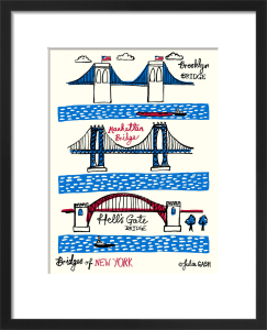 Bridges of New York by Julia Gash