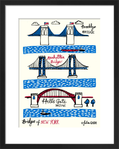 Bridges of New York by Julia Gash