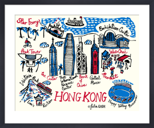 A Snapshot of Hong Kong by Julia Gash