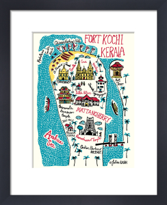 Fort Kochi and Kerala by Julia Gash