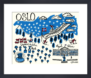 A Snapshot of Oslo by Julia Gash