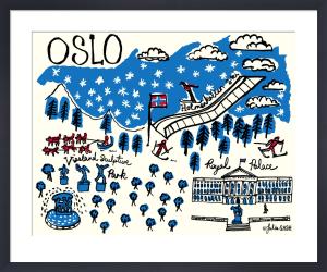 A Snapshot of Oslo by Julia Gash