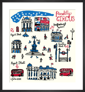London - Piccadilly Circus by Julia Gash