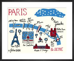 A Snapshot of the Rive Gauche, Paris by Julia Gash