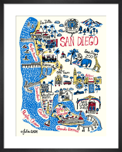 San Diego by Julia Gash