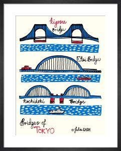 Bridges of Tokyo by Julia Gash