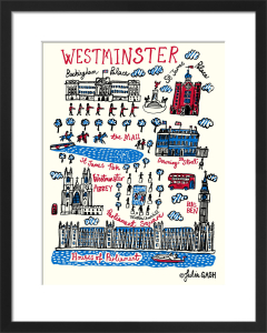 London - Westminster by Julia Gash