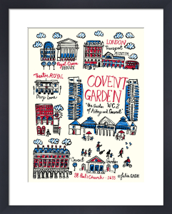 London - Covent Garden by Julia Gash