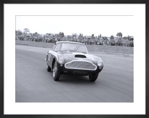 Aston Martin DB6 powerdrift, Silverstone by Anonymous