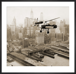 Pitcairn Autogiros over New York by Anonymous
