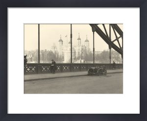 Tower of London from Tower Bridge by Anonymous