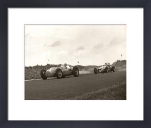 Low angle racing, Zandvoort by Anonymous