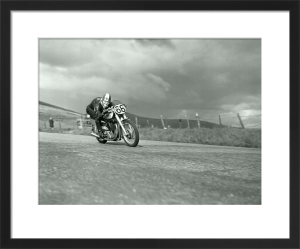 Racing Norton by Anonymous