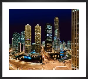 Chicago Night by Henry Reichhold