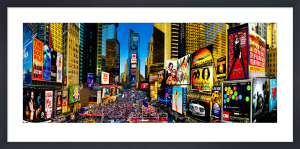 New York - Times Square by Henry Reichhold