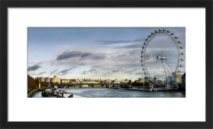 Thames Sunset, London Eye by Henry Reichhold