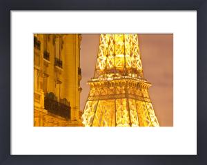 Eiffel by Night by Julian Elliott