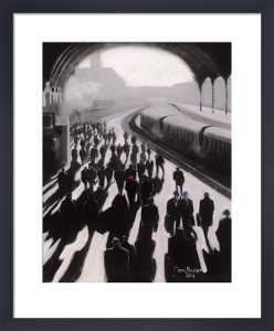 Victoria Station 1934 by Jon Barker