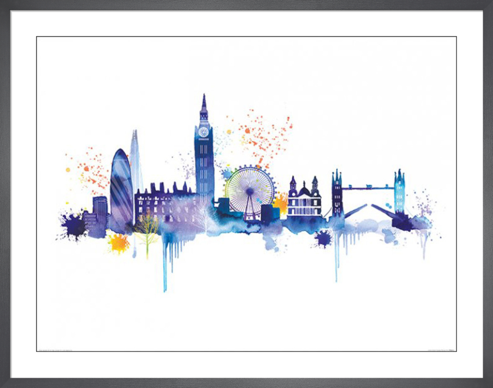 London Skyline Art Print by Summer Thornton | King & McGaw