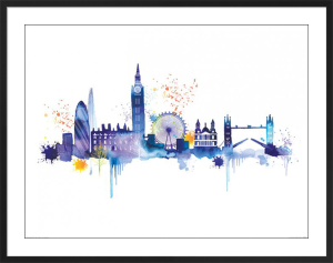 London Skyline by Summer Thornton