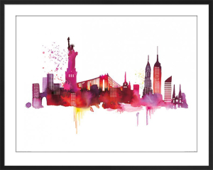 New York Skyline by Summer Thornton