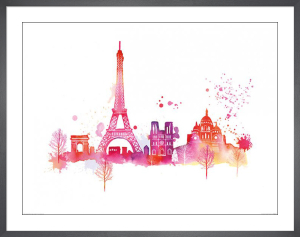 Paris Skyline by Summer Thornton