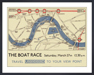 Boat Race Map by Transport for London