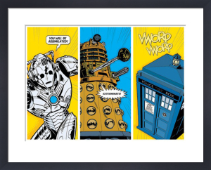 Doctor Who - Comic Sections by Anonymous
