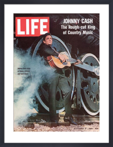 Johnny Cash - Cover 1969 by Time Life