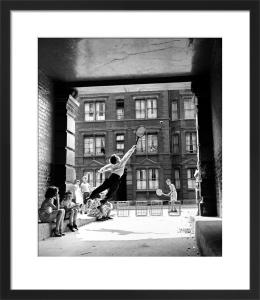 Back Street Tennis 1961 by Mirrorpix