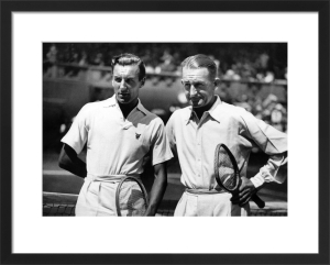 Fred Perry and Jack Crawford 1934 by Mirrorpix