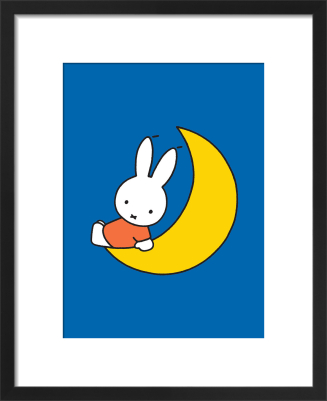 Miffy and Moon by Dick Bruna