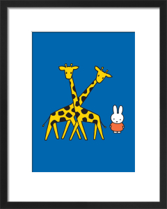 Miffy and Giraffes by Dick Bruna