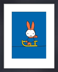 Miffy and Sledge by Dick Bruna