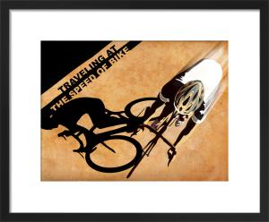 Biker Shadow by Sassan Filsoof