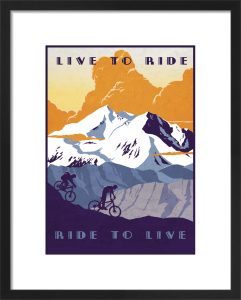 Live to Ride by Sassan Filsoof