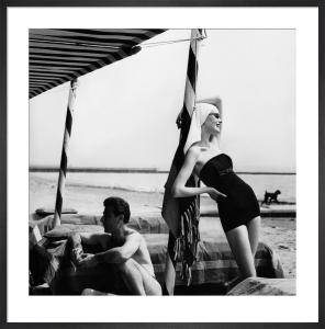 Vogue July 1956 by Henry Clarke