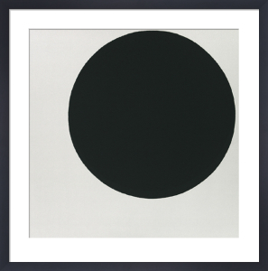 Black Circle by Kazimir Malevich