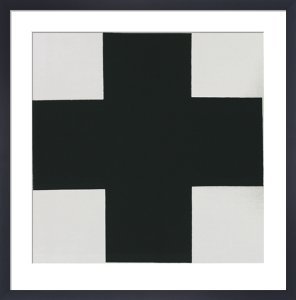Black Cross by Kazimir Malevich