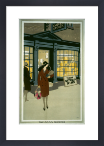 Empire Marketing Board - The Good Shopper by Frank Newbould