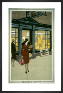 Empire Marketing Board - The Good Shopper by Frank Newbould