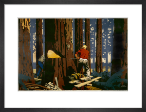 Empire Marketing Board - Timber from Canada by Frank Newbould