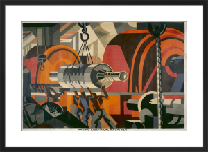 Empire Marketing Board - Making Electrical Machinery by Clive Gardiner