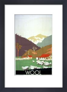 Empire Marketing Board - Wool by Frank Newbould