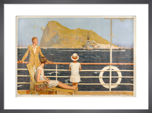 Empire Marketing Board - Gibraltar by Charles Pears