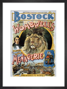 Bostock and Wombwell's Menagerie, 1897 by The National Archives