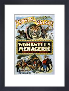 Wombwell's Menagerie, Crystal Palace, 1897 by The National Archives