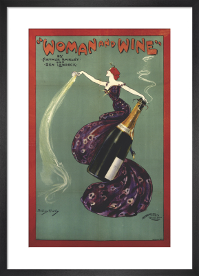 Woman and Wine, 1899 by Dudley Hardy